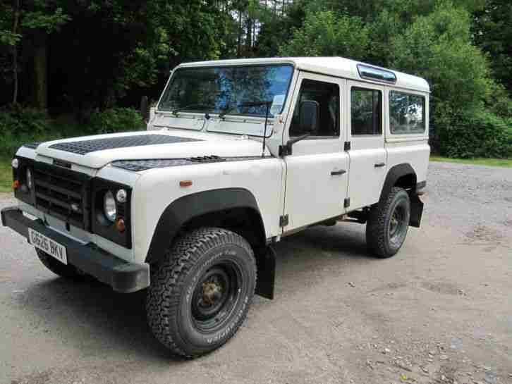 Land Rover Defender 90 Td5 Galvanised Chassis Remap Car