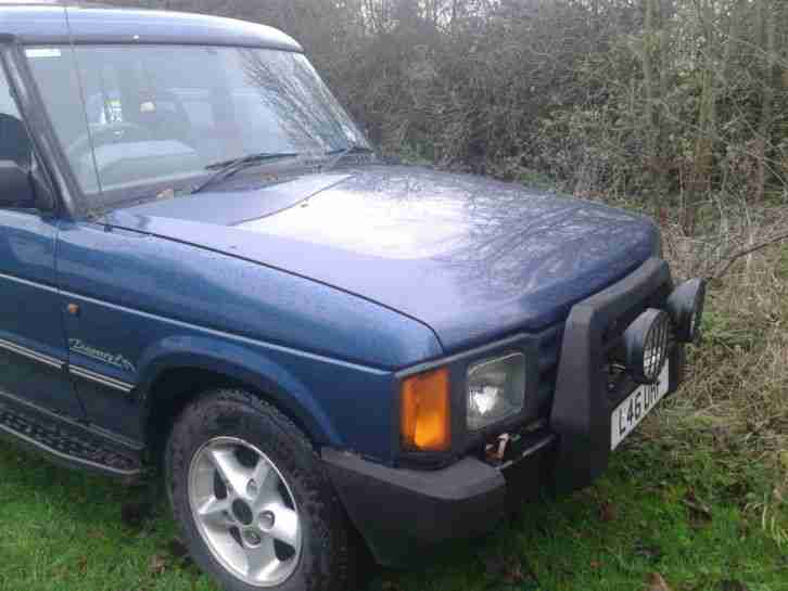 landrover discovery 200 tdi spares or repair