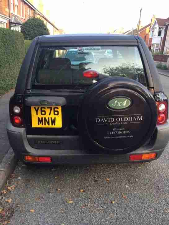 landrover freelander S, 1.8 petrol, low mileage, black