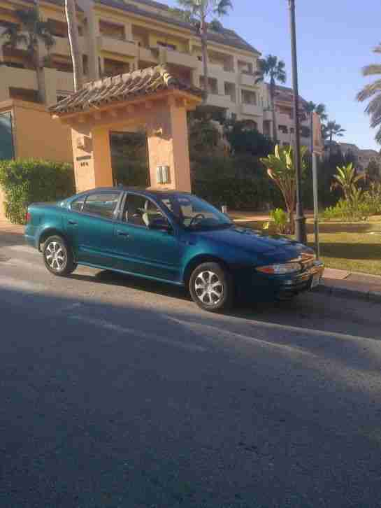 lhd OLDSMOBILE (usa) IN SPAIN.2.2lt AUTO only 47500MLS uk plates 2 X OWNERS
