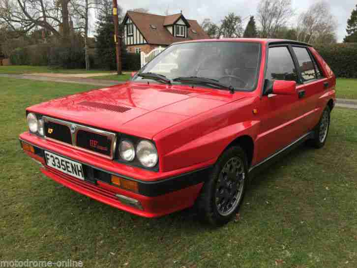 lovely original 89 F Delta Integrale