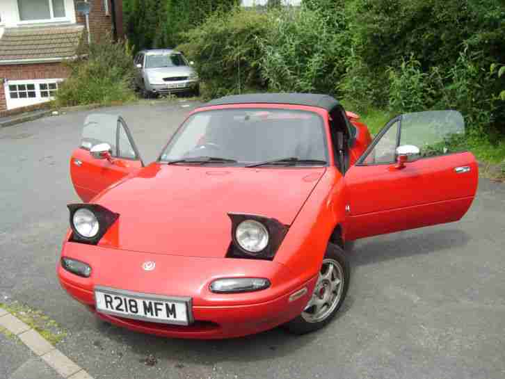 Mazda Mx5 Mk1 1 8 Manual  Car For Sale