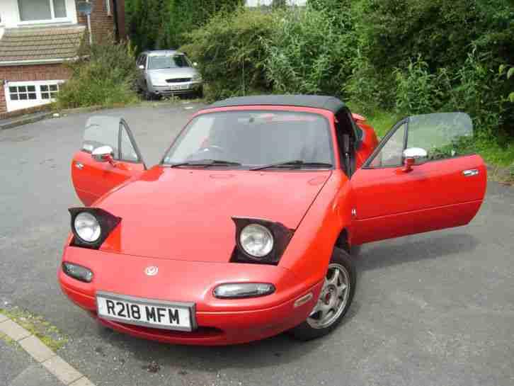 mazda mx5 mk1 1 8 manual car for sale