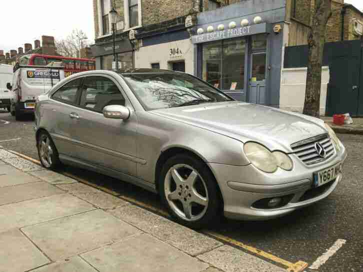 Mercades c class coupe c200 Kompressor SPARES or REPAIR