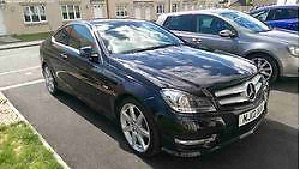 merecedes benz c class 2.1blue efficiency amg sport 2 door