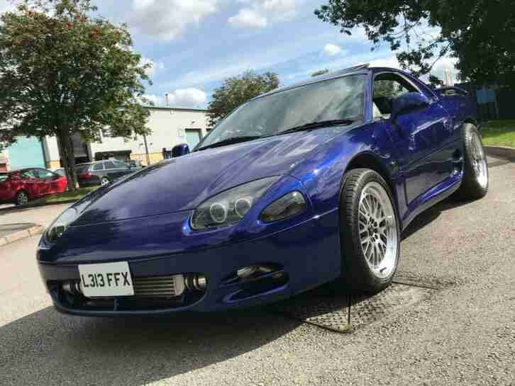 Mitsubishi gto twin turbo manual 6 speed 3000gt 4wd immaculate inside out