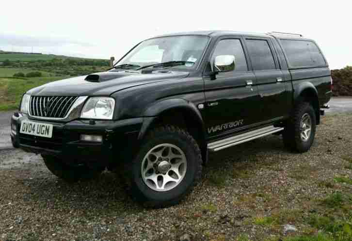 mitsubishi l200 warrior 2 5 2004 4x4 has issues car for sale. Black Bedroom Furniture Sets. Home Design Ideas