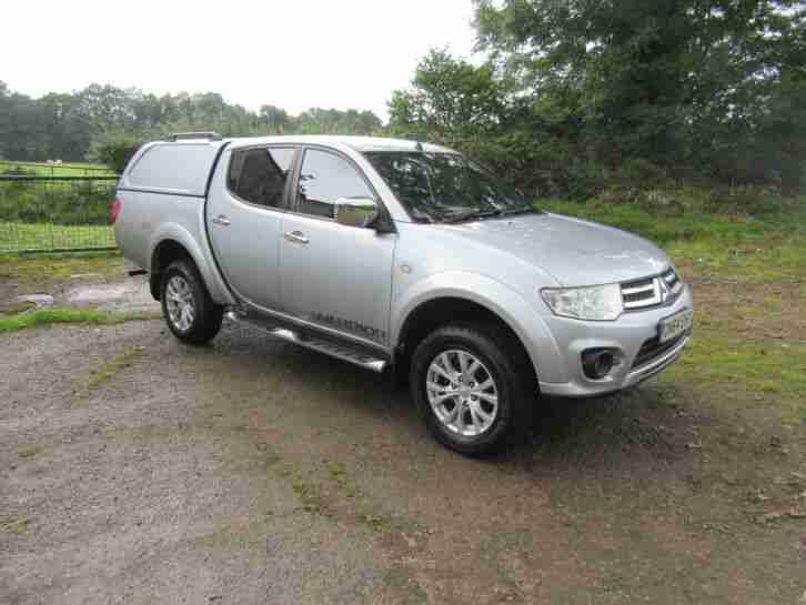 Mitsubishi L200 warrior. Mitsubishi car from United Kingdom
