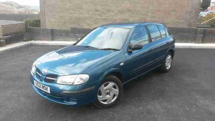 Nissan Almera 1.5. Nissan car from United Kingdom