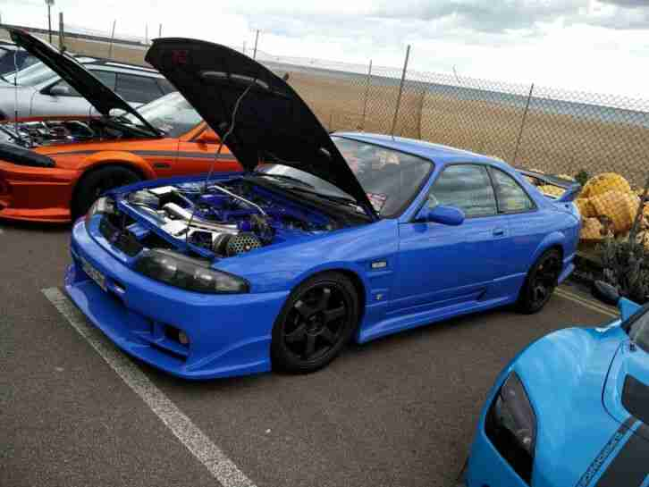 Nissan Skyline R33 Gtst Rwd Turbo Jdm Drift Import Not Gtr