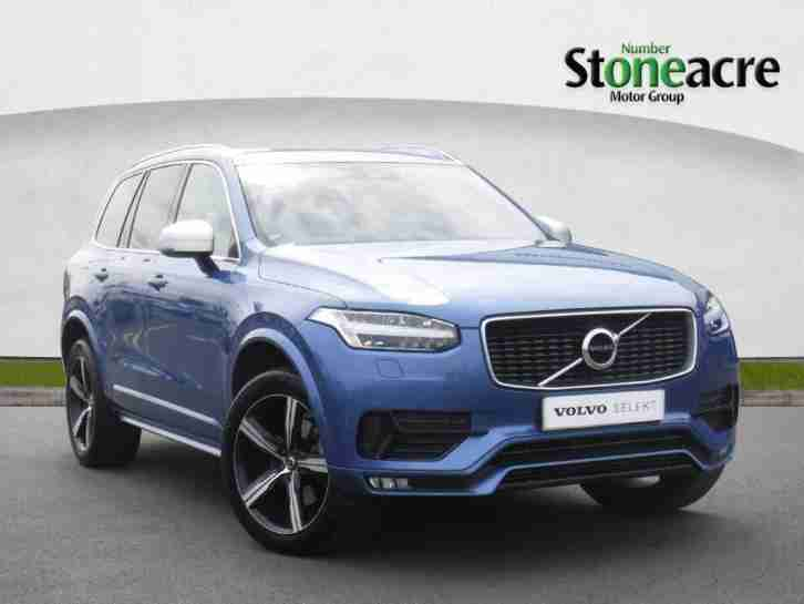 Volvo Null XC90. Volvo car from United Kingdom