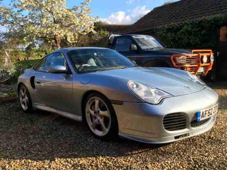 porsche 996 turbo 2002 polar silver