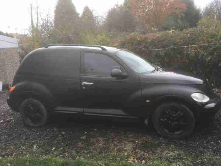 pt cruiser crd 2.2 van rat rod