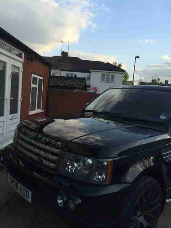 range rover sport HSE TDV8,2008 , black ,auto,diesel, very good condition