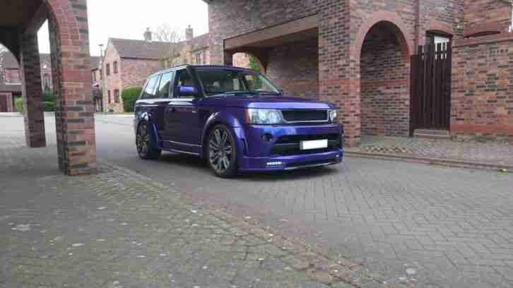 range rover sport facelift modified