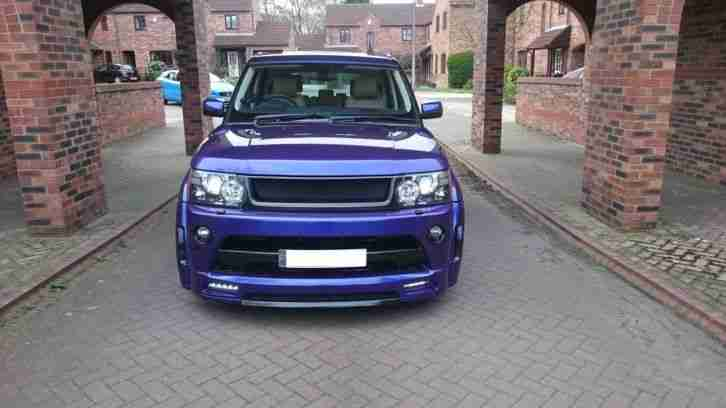 range rover sport facelift modified autobiography wide arch custom bespoke