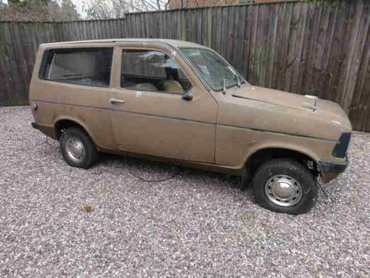 Reliant Kitten estate. Reliant car from United Kingdom