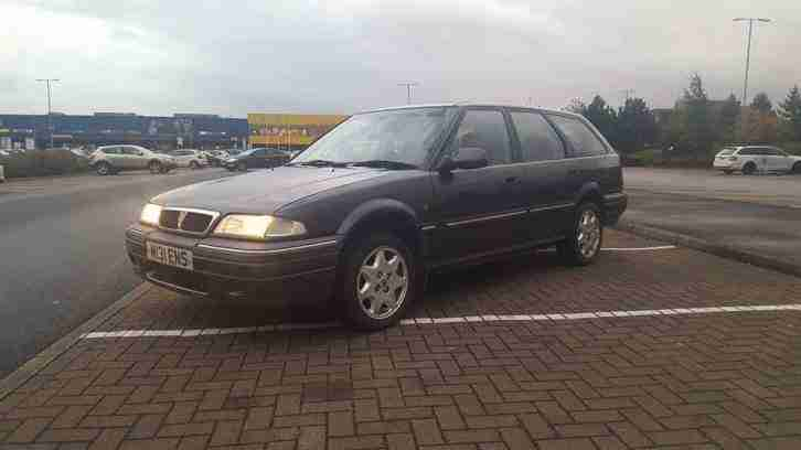 rover 420 gsi tourer Rare 82k 1 years mot