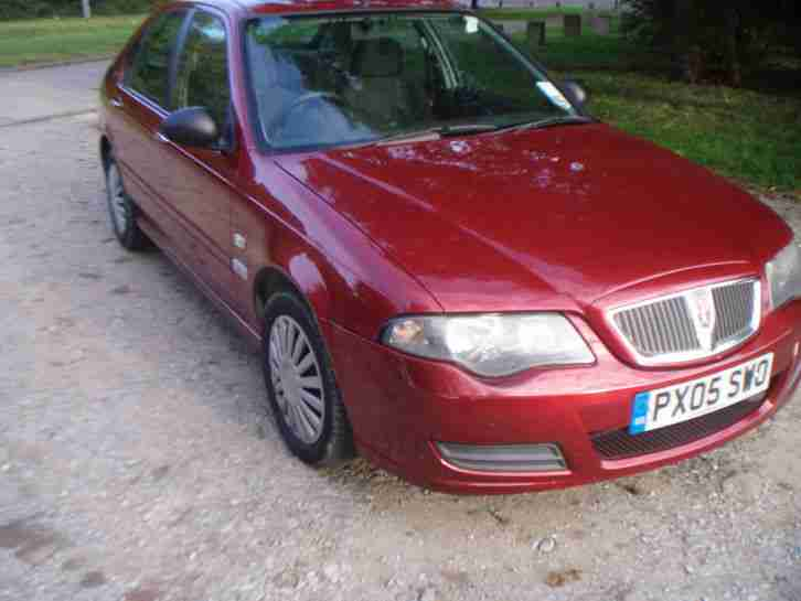 rover 45 05 plate ,ABSOLOUTE BARGAIN 495 no offers. long mot no tax .