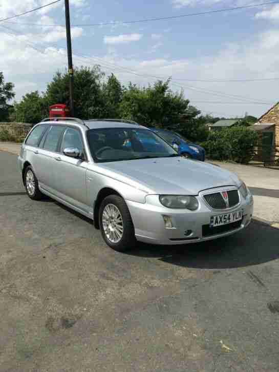 Rover 75 diesel. MG car from United Kingdom