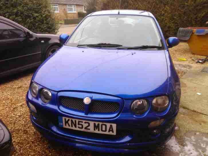 rover mg zr 1 4 spares or repair car for sale. Black Bedroom Furniture Sets. Home Design Ideas