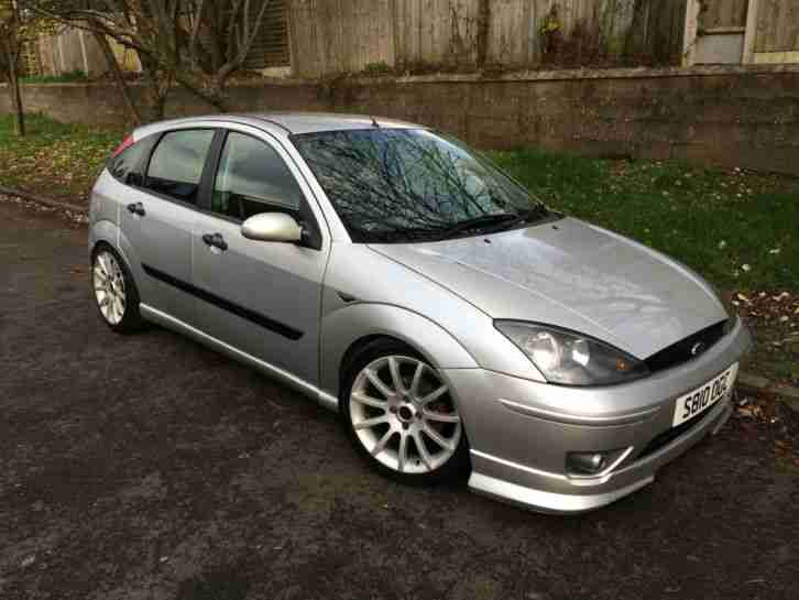 s reg focus 1.6 zetec 5door silver very
