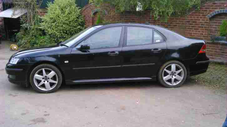 Saab 9 3 2005 1 9 Tid Vector Sport In Black Car For Sale