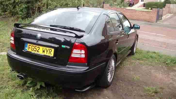 octavia rs 1.8 petrol turbo