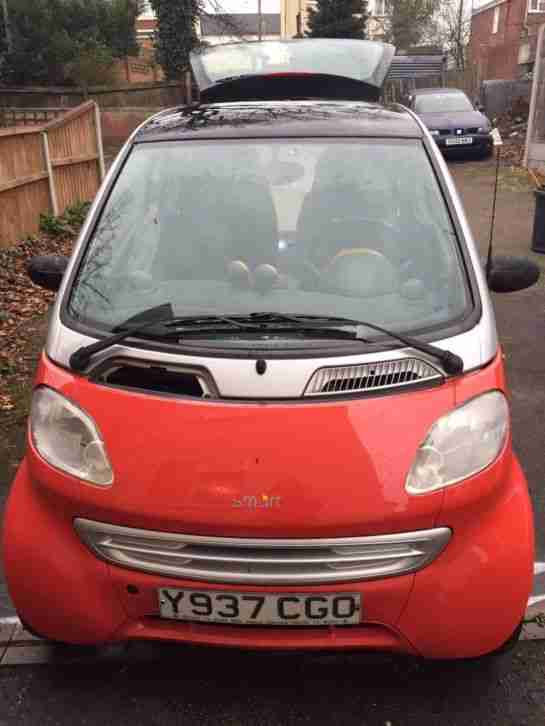 Smart Car LHD. Smart car from United Kingdom