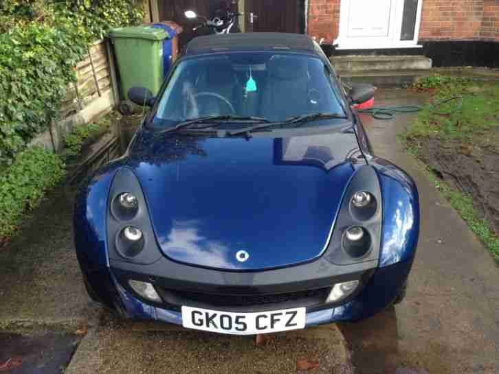 Smart Car roadster. Smart car from United Kingdom