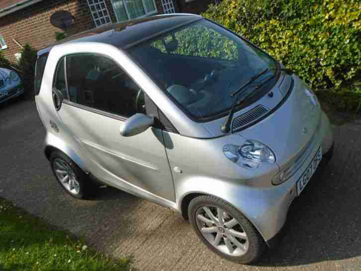 smart for two auto 2007 very low mileage look car for sale. Black Bedroom Furniture Sets. Home Design Ideas