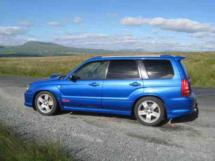 Subaru forester sti not impreza wrx sti evo part ex car for Subaru forester paint job cost