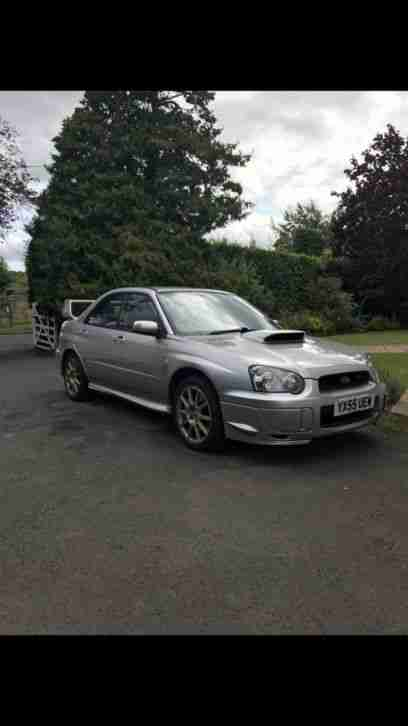 impreza STI widetrack 2005