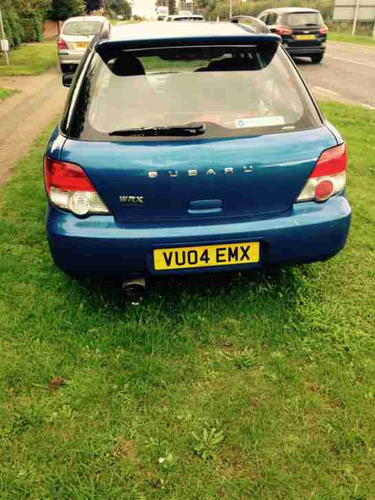 Subaru Impreza Wrx Wagon 2004 Spares Or Repairs Car For Sale