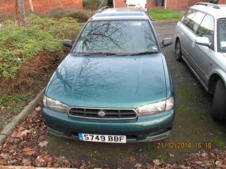 subaru legacy spares or repair