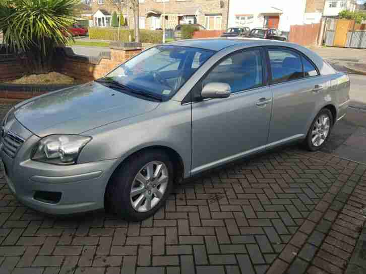 Toyota Avensis 2007. Toyota car from United Kingdom