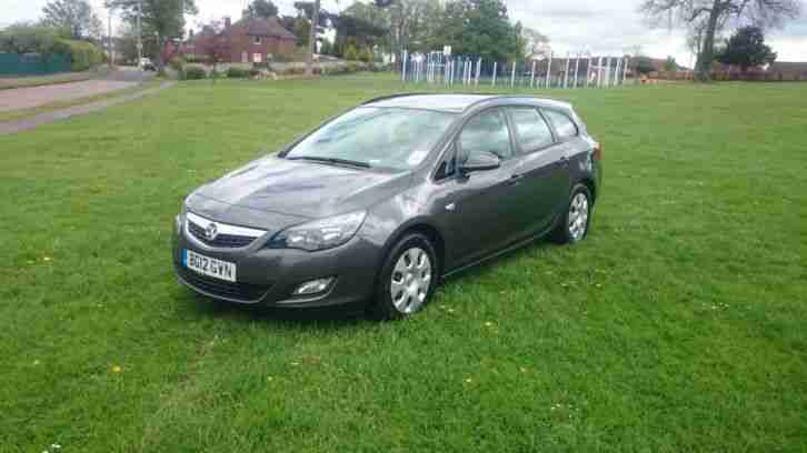 Vauxall astra. Opel car from United Kingdom