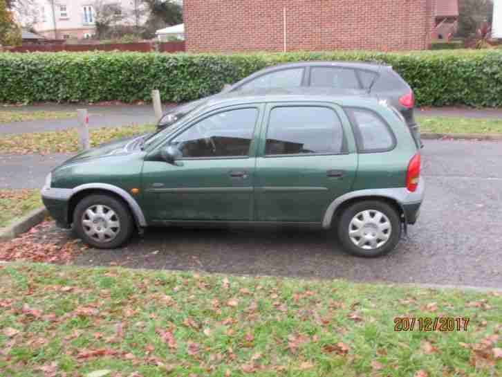 Vauxhall corsa 1.4 cdx 1999 37,000 miles ideal cheap runabout