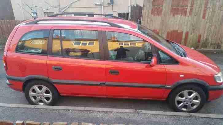 vauxhall zafira 1 8 comfort 2002 car for sale. Black Bedroom Furniture Sets. Home Design Ideas