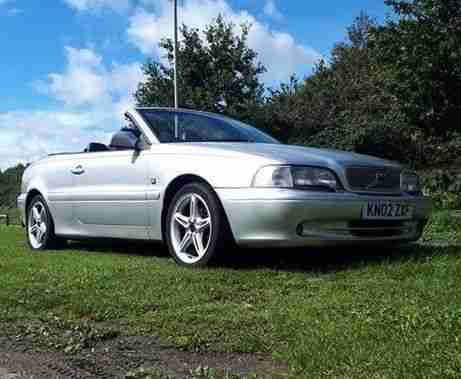 c70 convertible 2.4 turbo petrol