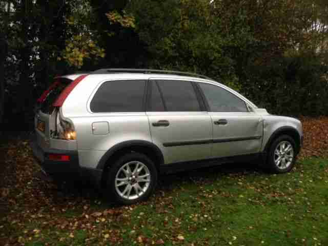 volvo xc90 2003 4x4 awd 7 seater estate spares repair unrecorded car for sale. Black Bedroom Furniture Sets. Home Design Ideas