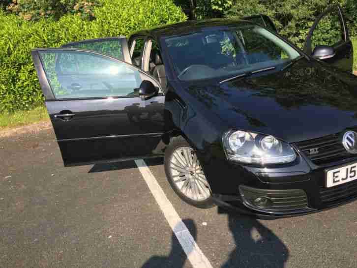 vw Golf 5 2.0 tdi GT SPORT black 5 door VOLKSWAGEN mk5 Leather