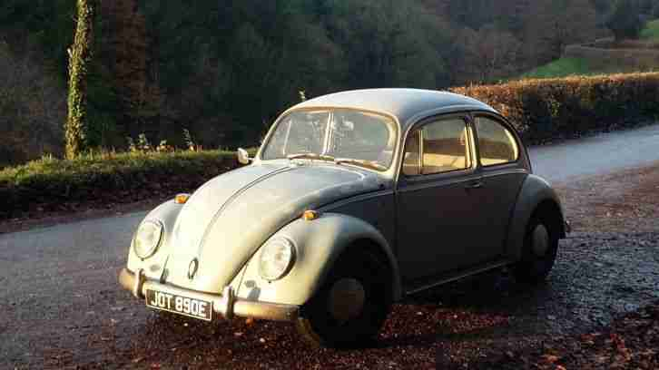 Vw beetle bug 1967 rat look rare one year only