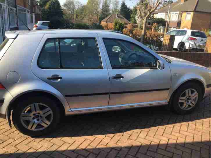 Vw golf mk4. Volkswagen car from United Kingdom
